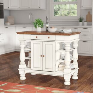 August Grove Collette Kitchen Island
