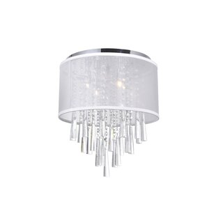 CWI Lighting 4-Light Flush Mount