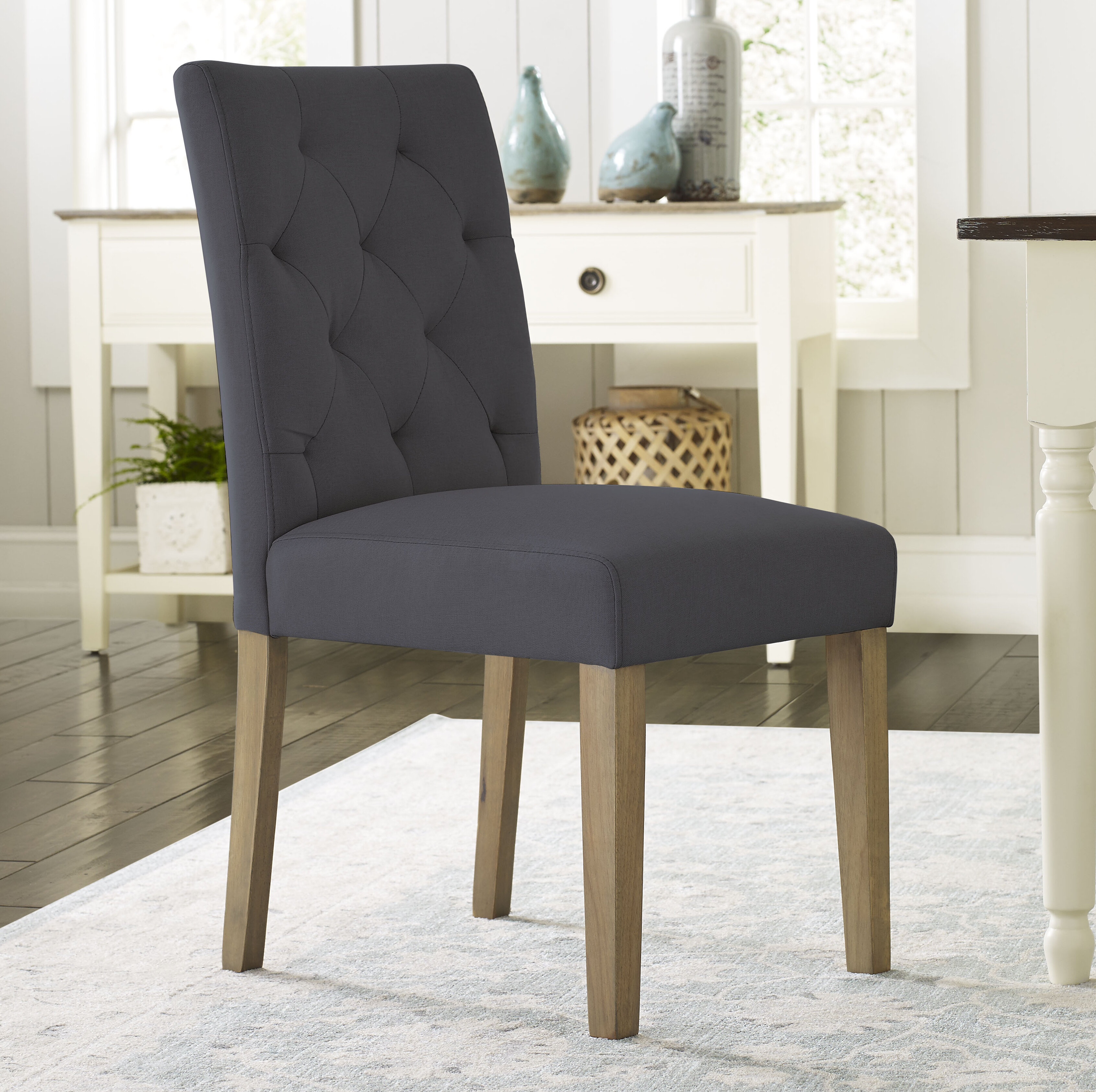 Asuncion Tufted Upholstered Dining Chair
