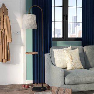 Compare & Buy Backstrom 65 Arched Floor Lamp By Mercury Row