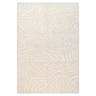 Best Price Wexler Hand-Tufted White Area Rug By Willa Arlo Interiors