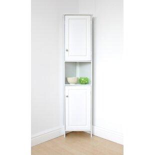 Schwartz 37 X 150cm Corner Free-Standing Cabinet By Brambly Cottage