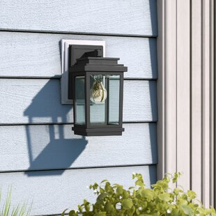 Laurel Foundry Modern Farmhouse Persil 1-Light Outdoor Wall Lantern