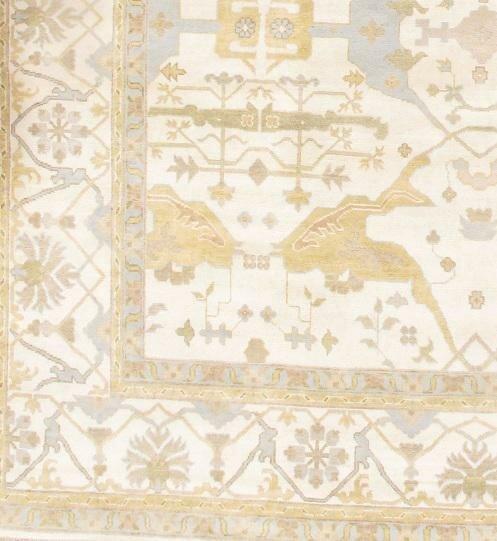 Bungalow Rose Colella Turkish Design Hand Knotted Wool Beige Area Rug Wayfair