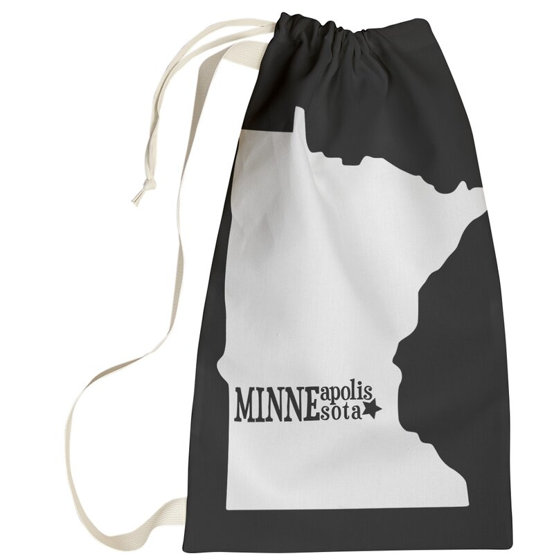 East Urban Home Minneapolis Minnesota Laundry Bag Wayfair