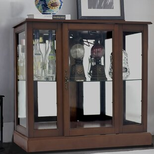Franklyn Lighted Console Curio Cabinet