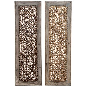 King And Queen Crown Wall Decor gold wall accents you'll love | wayfair