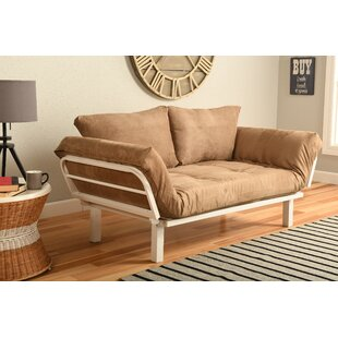 Ebern Designs Everett Convertible Lounger Futon and Mattress