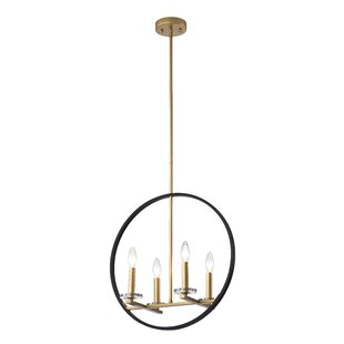 Jerome 4-Light Candle Style Chandelier by Wrought Studio