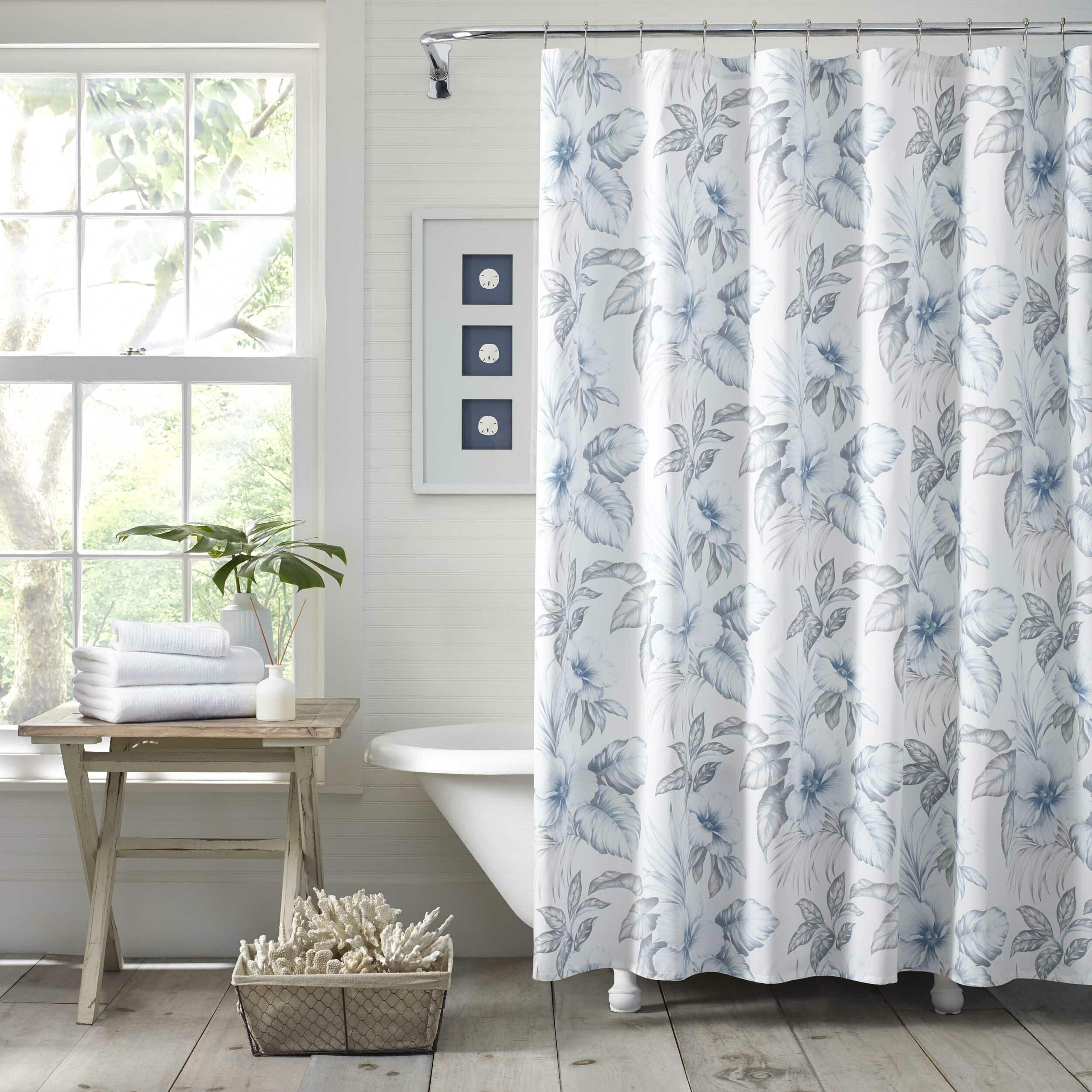 Casablanca Garden 100 Cotton Shower Curtain