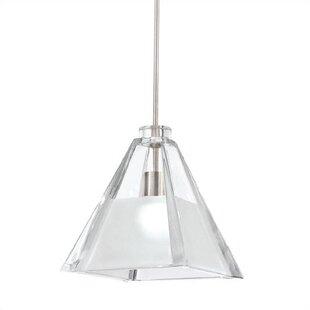 WAC Lighting European 1-Light Cone Pendant