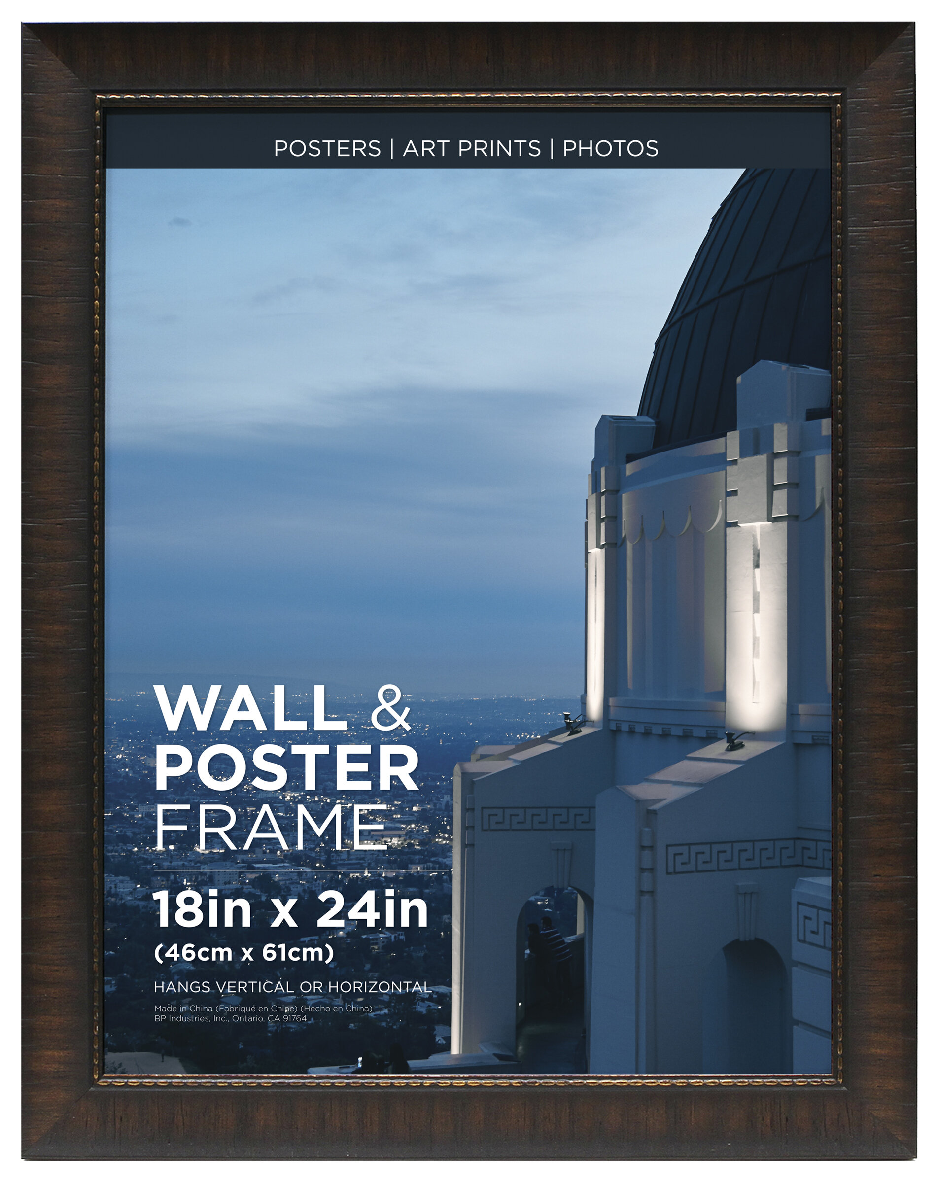 Bloomsbury Market Hutter Poster Espresso Picture Frame Reviews