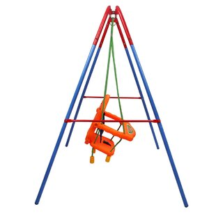 Bearden Folding Toddler Baby Outdoor Swing Safety Chair Set By Freeport Park