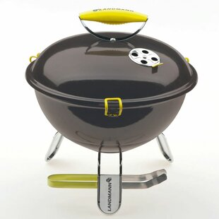 34cm Landmann Piccolino Portable Charcoal Barbecue By Symple Stuff