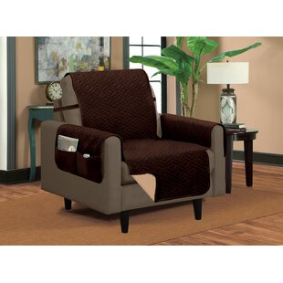 Classic Box Cushion Armchair Slipcover By Winston Porter