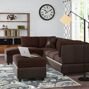 Corporate Reversible Sectional with Ottoman