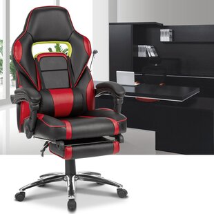 Ergonomic High-Back Faux Leather Reclining Chair ByLatitude Run