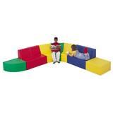 8 Piece School Age Corner Soft Seating Set by Children's Factory