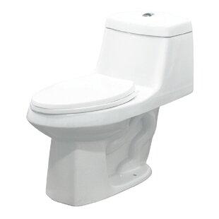 Transolid Jackson Dual Flush Elongated One Piece Toilet