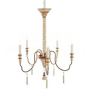 Aidan Gray Yolonda Medium Candle-Style Chandelier
