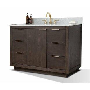Calahan 48 Single Bathroom Vanity Set by Wrought Studio