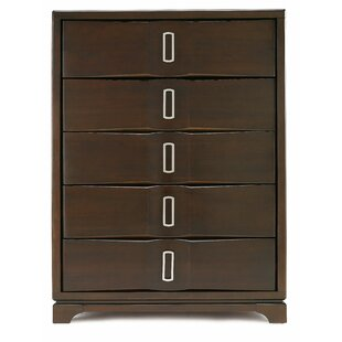 Brayden Studio Teitelbaum 5 Drawer Chest