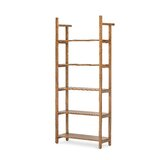 Hennis 77'' H x 32 W Etagere Bookcase by Foundry Select
