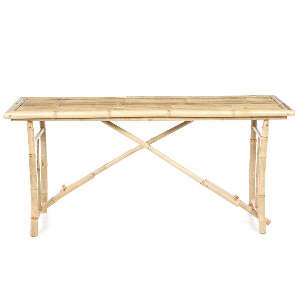 Bay Isle Home Porter Long Folding Bamboo Console Table U0026 Reviews | Wayfair