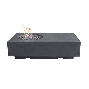 Maples Concrete Propane Fire Pit By Sol 72 Outdoor
