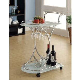 Bentson Dazzling Bar Carts by House of Hampton