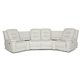 Lauderdale Symmetrical Reclining Sectional By Palliser Furniture