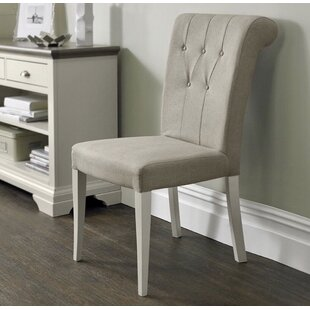 Lattimore Upholstered Dining Chair (Set of 2) Rosecliff Heights