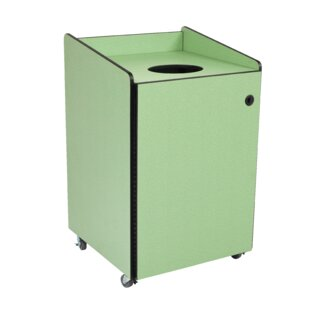 Heavy-Duty 55 Gallon Curbside Trash And Recycling Bin By AmTab Manufacturing Corporation