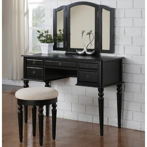 Palmer Vanity Set with Mirror