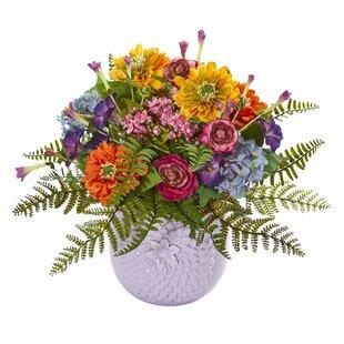 Mixed Floral Arrangement in Vase