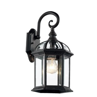 Powell Outdoor Wall Lantern by Laurel Foundry Modern Farmhouse
