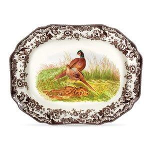 Woodland Octagonal Platter