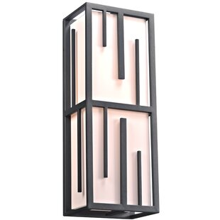 Read Reviews Lydney 2-Light Outdoor Flush Mount By Ebern Designs