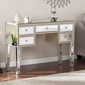 Wildon Home ® Wilmer Mirrored Console Table