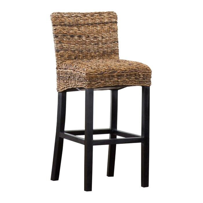 Astonishing Arturo Woven Rattan Bar Stool Inzonedesignstudio Interior Chair Design Inzonedesignstudiocom