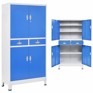 Brumback 4 Door Storage Cabinet By Rebrilliant