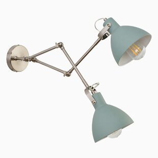 Ivy Bronx Dunsmore 2-Light Swing Arm Lamp