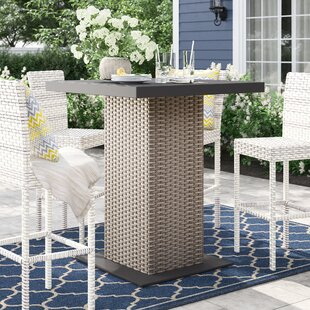 Rockport Bar Table by Sol 72 Outdoor Spacial Price