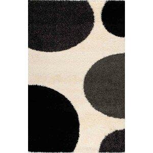 Porsha Game of Dots Cream Area Rug