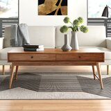 Mayer Solid Wood Coffee Table with Storage