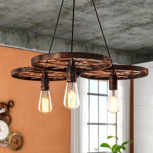 Price Check Kaleigh 3-Light Shaded Chandelier By Trent Austin Design