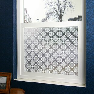 Damask Privacy Window Film by Stick Pretty