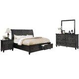Schuck Sleigh 4 Piece Bedroom Set by Fleur De Lis Living