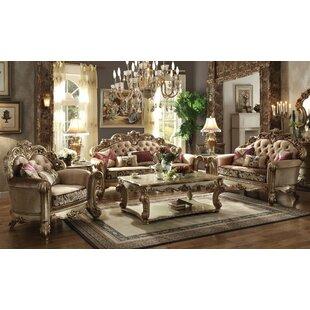 Astoria Grand Fonzo 3 Piece Living Room Set