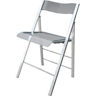 Alston Lucite Folding Side Chair (Set of 2)